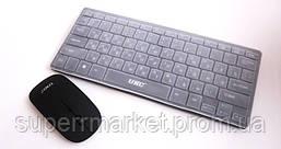 Беспроводная мини-клавиатура для ПК  k03  UKC + мышь + чехол - 2.4 G, фото 2