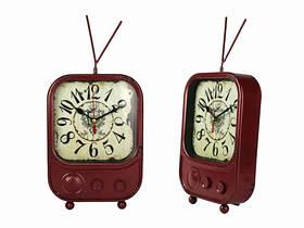 Ретро-часы настольные Телевизор (Два цвета) Красный