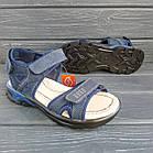 Кожаные сандалии мальчикам, копия Ecco, фото 2