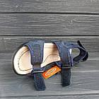 Кожаные сандалии мальчикам, копия Ecco, фото 3