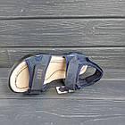 Кожаные сандалии мальчикам, копия Ecco, фото 4