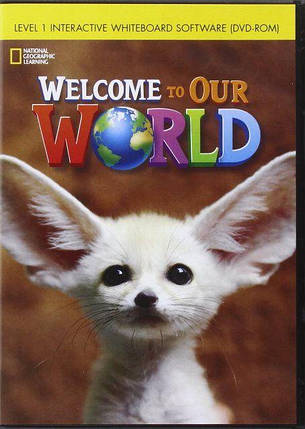 Welcome to Our World 1 Interactive Whiteboard DVD-ROM, фото 2