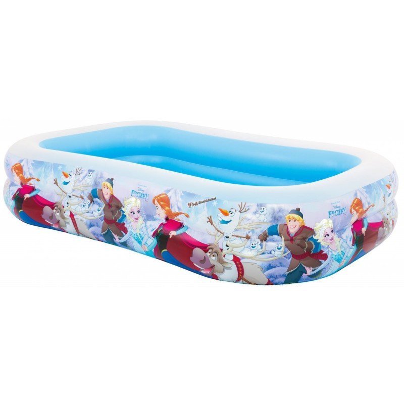 Детский надувной бассейн Intex 58469 Холодное Сердце 262x175х56см