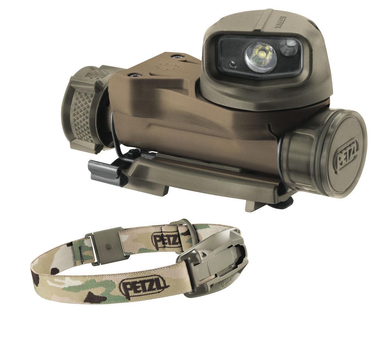 Фонарь налобный Petzl STRIX VL camo (E90AHBC)
