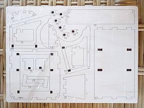 Деревянный конструктор 3D пазл Citroen-H, фото 2
