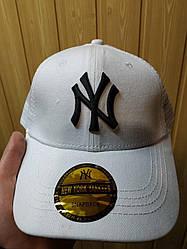 Бейсболка кепка Нью Йорк мужская/женская белая (реплика) Сap New York White