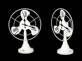 Часы Антик настольные Вентилятор