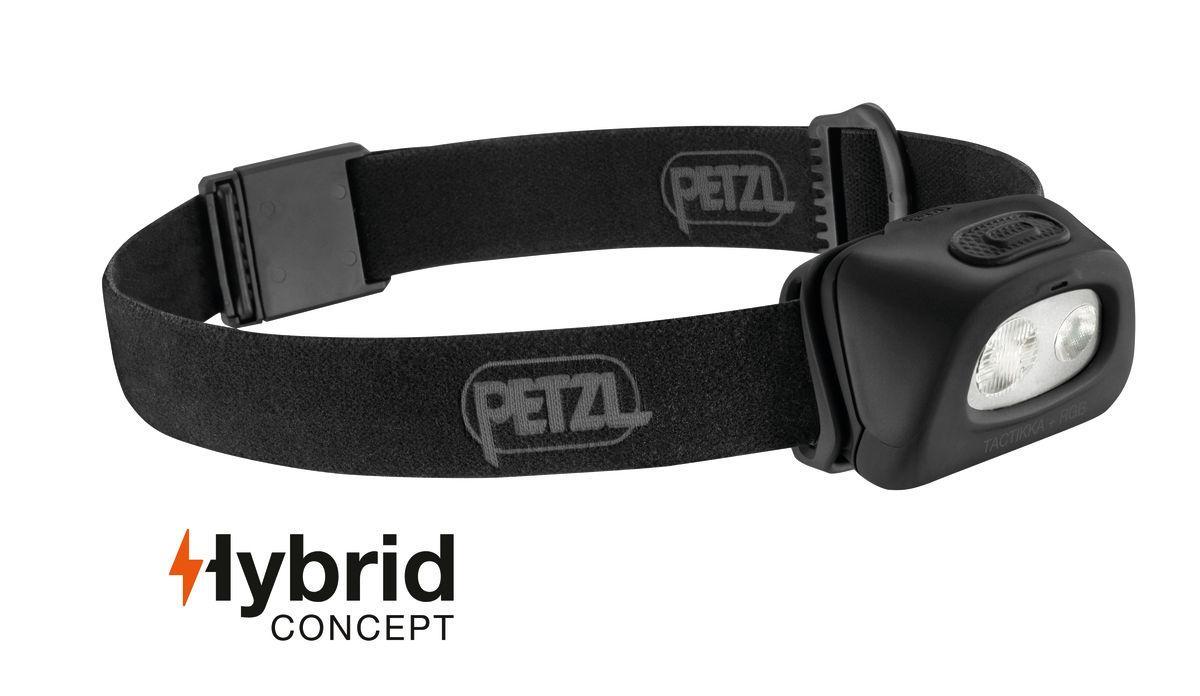 Фонарь налобный Petzl TACTIKKA® + RGB black (E89ABA)