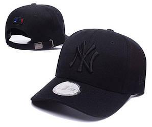 Бейсболка кепка Нью Эра мужская/женская черная (реплика) Сap New Era Black