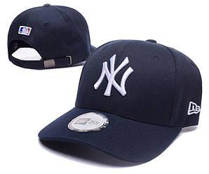 Бейсболка кепка Нью Эра мужская/женская синяя (реплика) Сap New Era Dark Blue