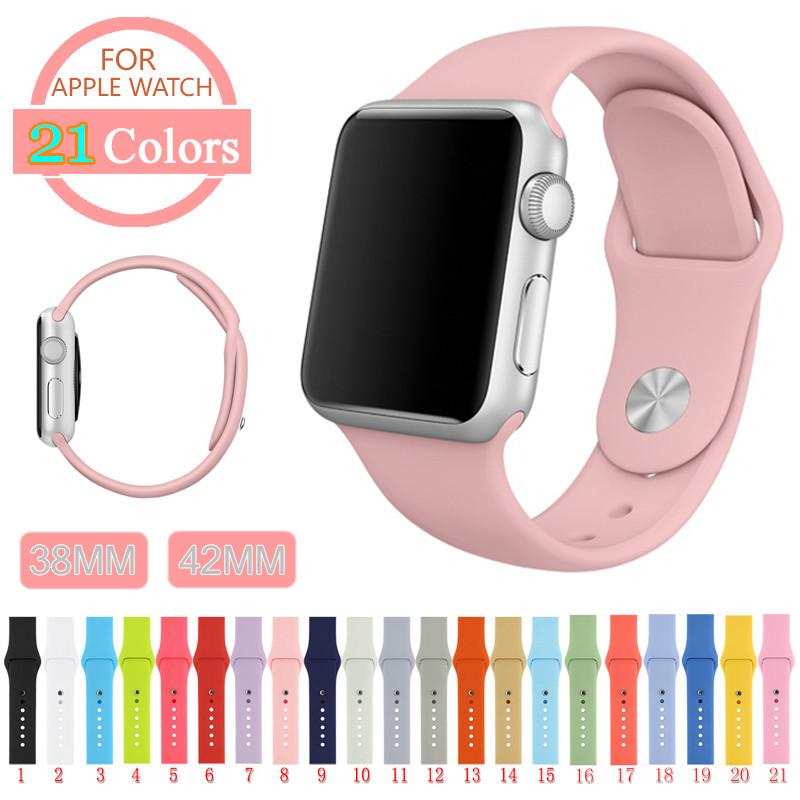 Ремешок Apple Watch 38/42 mm Silicone