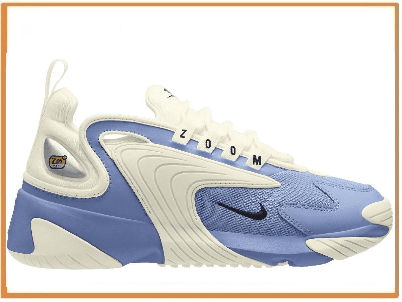 e8b09375 Женские кроссовки Nike Zoom 2K Blue White (найк зум 2к, голубые / белые)  36, цена 1 450 грн., купить в Киеве — Prom.ua (ID#962766575)