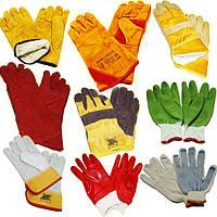 Рабочие перчатки и краги сварщика