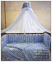 Комплект в детскую кроватку. КАРАПУЗ Комплект в дитяче ліжко.