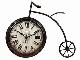 Годинники настільні Вело Пенні-Фартінг Pied (Два кольори) Мідний