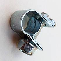 Хомут МИНИ 14-16 мм (100 штук) усиленный винтовой / OPTIMA / червячный хомут / ОПТИМА, фото 3
