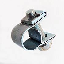 Хомут МИНИ 14-16 мм (100 штук) усиленный винтовой / OPTIMA / червячный хомут / ОПТИМА, фото 2