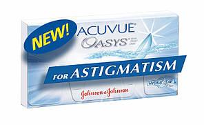 Контактная линза Acuvue Oasys for Astigmatism Доставка Бесплатно