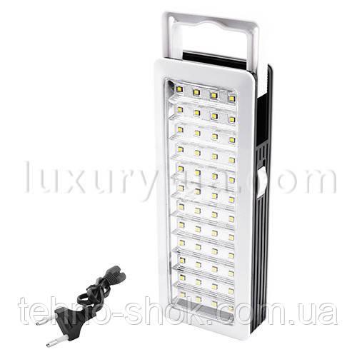 Светодиодная аккумуляторная лампа Yajia 6818 TP, 48SMD