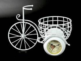 Настольные часы Вело с Корзиной