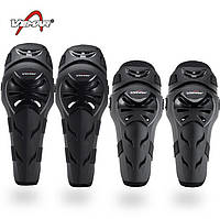 VEMAR S-165 Knee/Elbow Protector Set, Black - Комплект мотозащиты (колено/голень + предплечье/локоть)