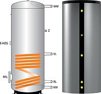 Бойлер косвенного нагрева для  воды Huch BS 750 со съемной изоляцией