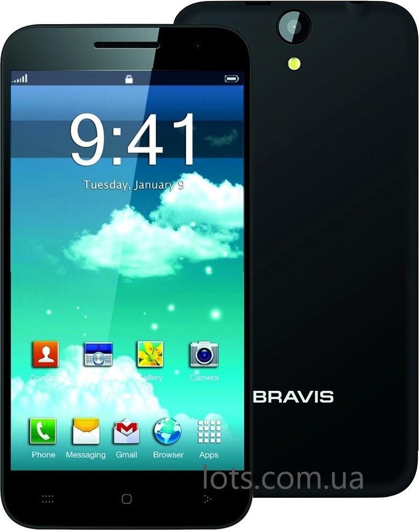 Смартфон Bravis Alto 1/8Gb Black Камера 8 Мп