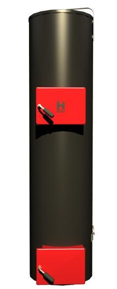 Цилиндрические твердотопливные котлы  длительного горения HEIZER SPARK (ХЕЙЗЕР СПАРК) 45кВт