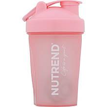 Шейкер Nutrend Life is a sport 400 ml (рожевий)