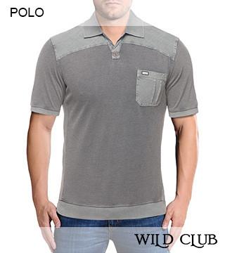 Трикотажные футболки поло опт Wild Club 817003