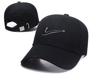 Бейсболка кепка Найк мужская/женская черная (реплика) Сap Nike Black