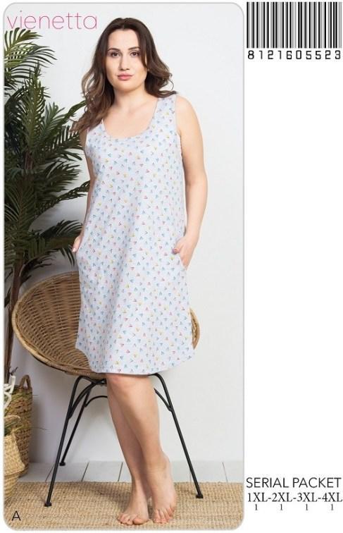 92e1b80736f5 Ночная рубашка Vienetta Secret Большие размеры New 2019: продажа ...