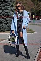 Классическое женское пальто с поясом кашемир распродажа