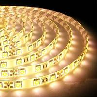 Светодиодная лента B-LED 5050-60 WW IP65 теплый белый, герметичная, 5метров, фото 1