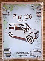 Деревянный конструктор 3D пазл Fiat 126