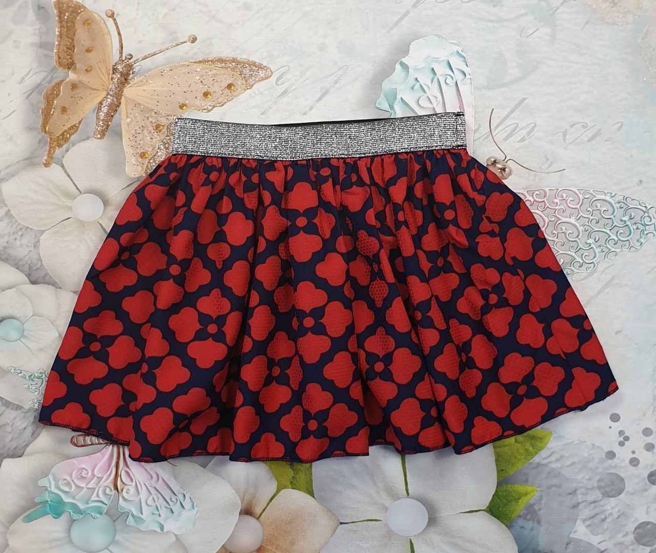 Детская юбка на лето для девочки р. 116-134