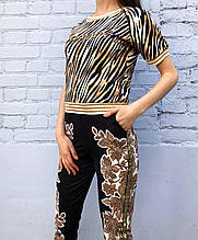 Женский костюм брючный Balmain
