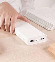 Power bank Xiaomi 20000mAh на 2 USB портативная батарея, повербанк