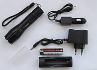 Фонарик тактический POLICE 158000W BL-1831-T6, ручной фонарь аккумуляторный