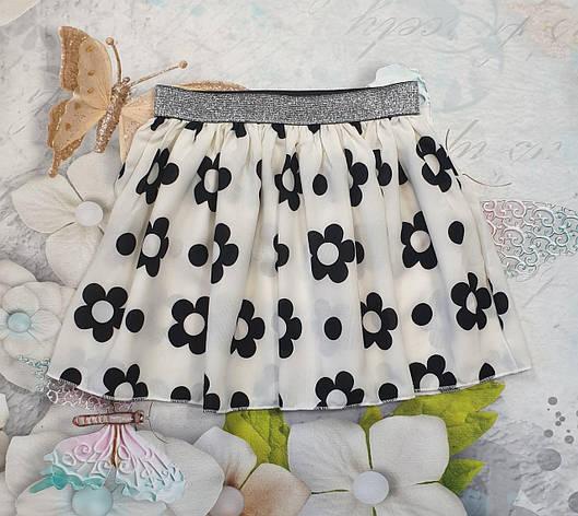 Детская юбка на лето для девочки р. 116-134, фото 2