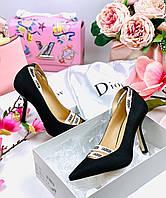 Еллегантные  женские туфельки Dior cruis 2018 (реплика), фото 1