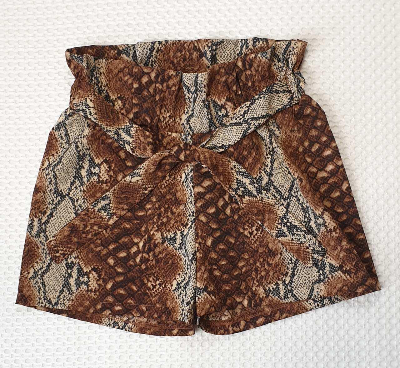 Детский летние шорты для девочки софт р. 128-146