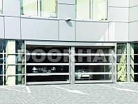 Промышленные панорамные секционные ворота DoorHan ISD02 , фото 1
