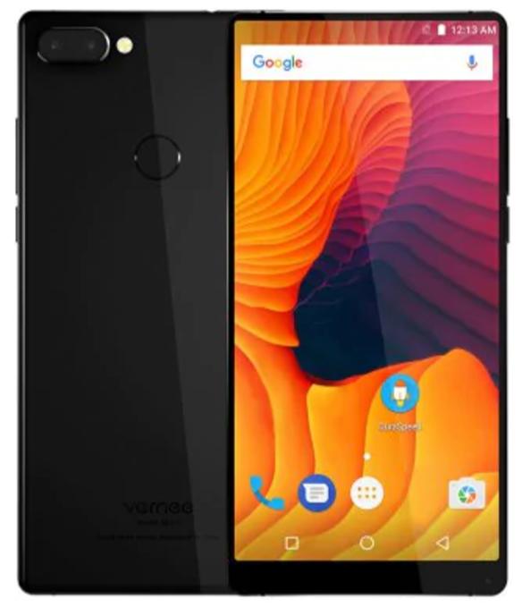 "Смартфон Vernee Mix 2 Black 4/64Gb, 8 ядер, 13+5/8Мп, 6""IPS, 2 sim, 4G, 4200мАһ, Android 7.0"