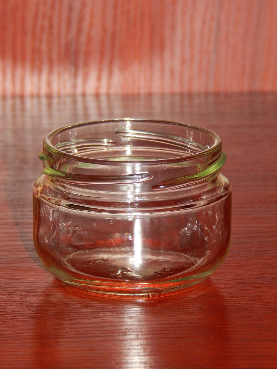 Банка стеклянная 100 мл с горловиной твист 66 мм (20 штук в упаковке)