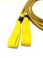 Петли желтые тканевые для эспандера