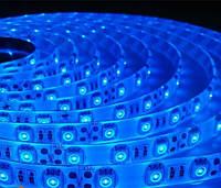 Светодиодная лента B-LED 5050-60 B IP65 синий, герметичная, 5метров, фото 1