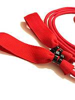 Петли красные тканевые для эспандера