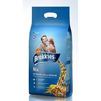 Brekkies Dog Excel Mix Fish - корм для собак с лососем тунцом и овощами 20кг