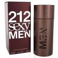 Мужская туалетная вода Carolina Herrera 212 Sexy Men (Каролина Хирерра 212 Секси Мэн) 100 мл Турция Люкс